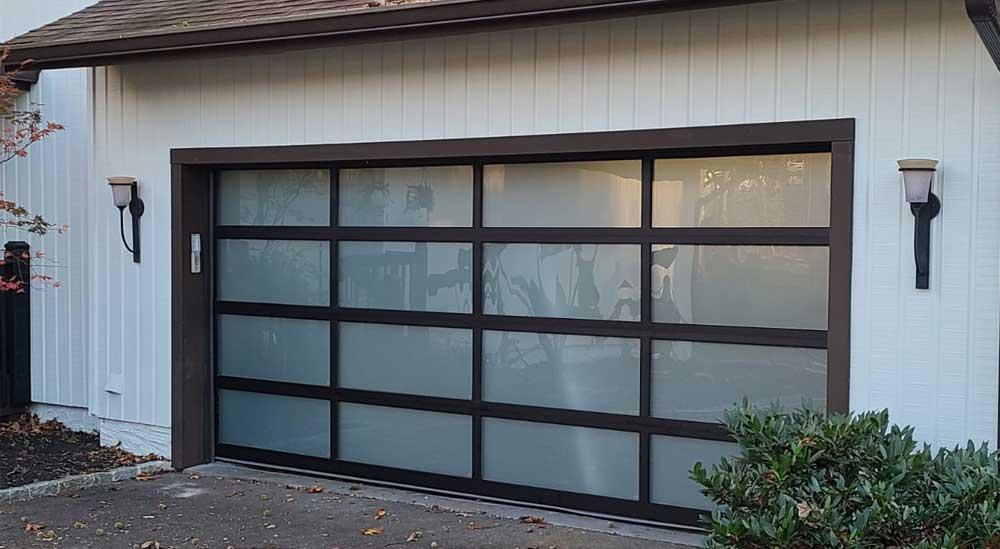 after garage door project