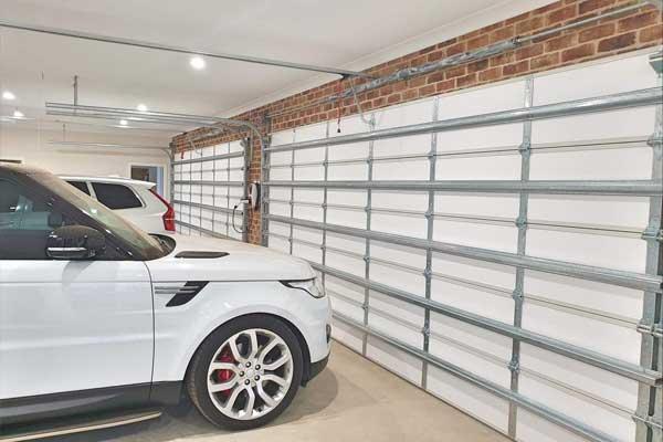 double garage door insulation