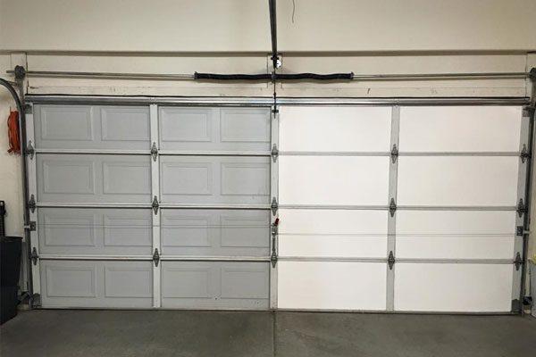 insulated vs noninsulated garage door